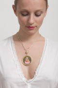 lotus goddess necklace